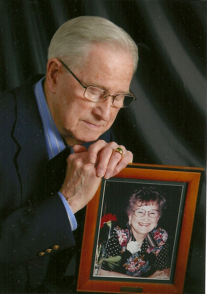 Stan with June's picture