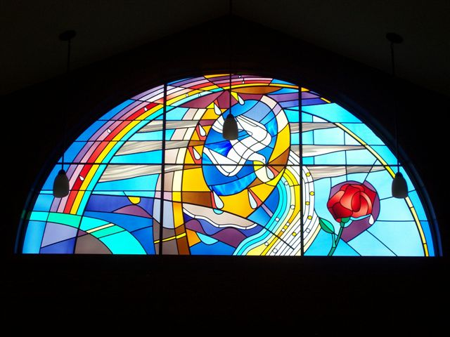 Ellen Silbaugh's Holy Trinity Window Memorial