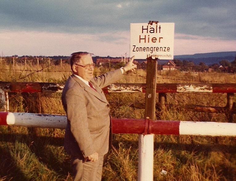 East West German Border Sept. 1974