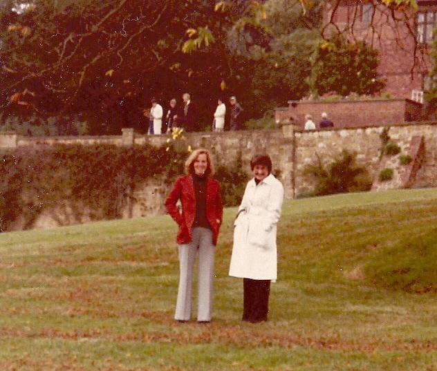 June and Joan Bruce September 1977