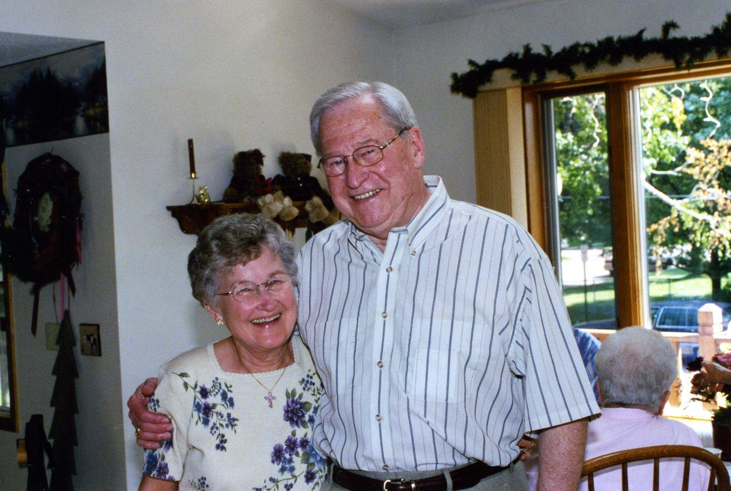 June and Stan 50th anniversary