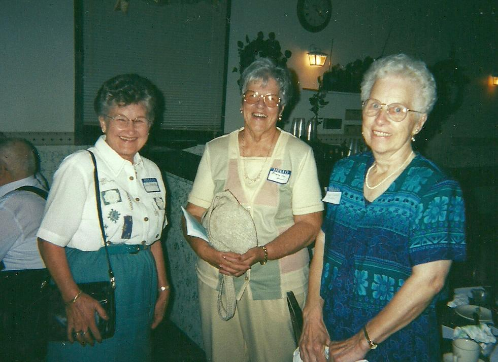 June Berg at Colfax Class Luncheon 2000