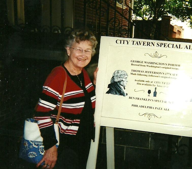 June Berg in Phildadelphia June 2003