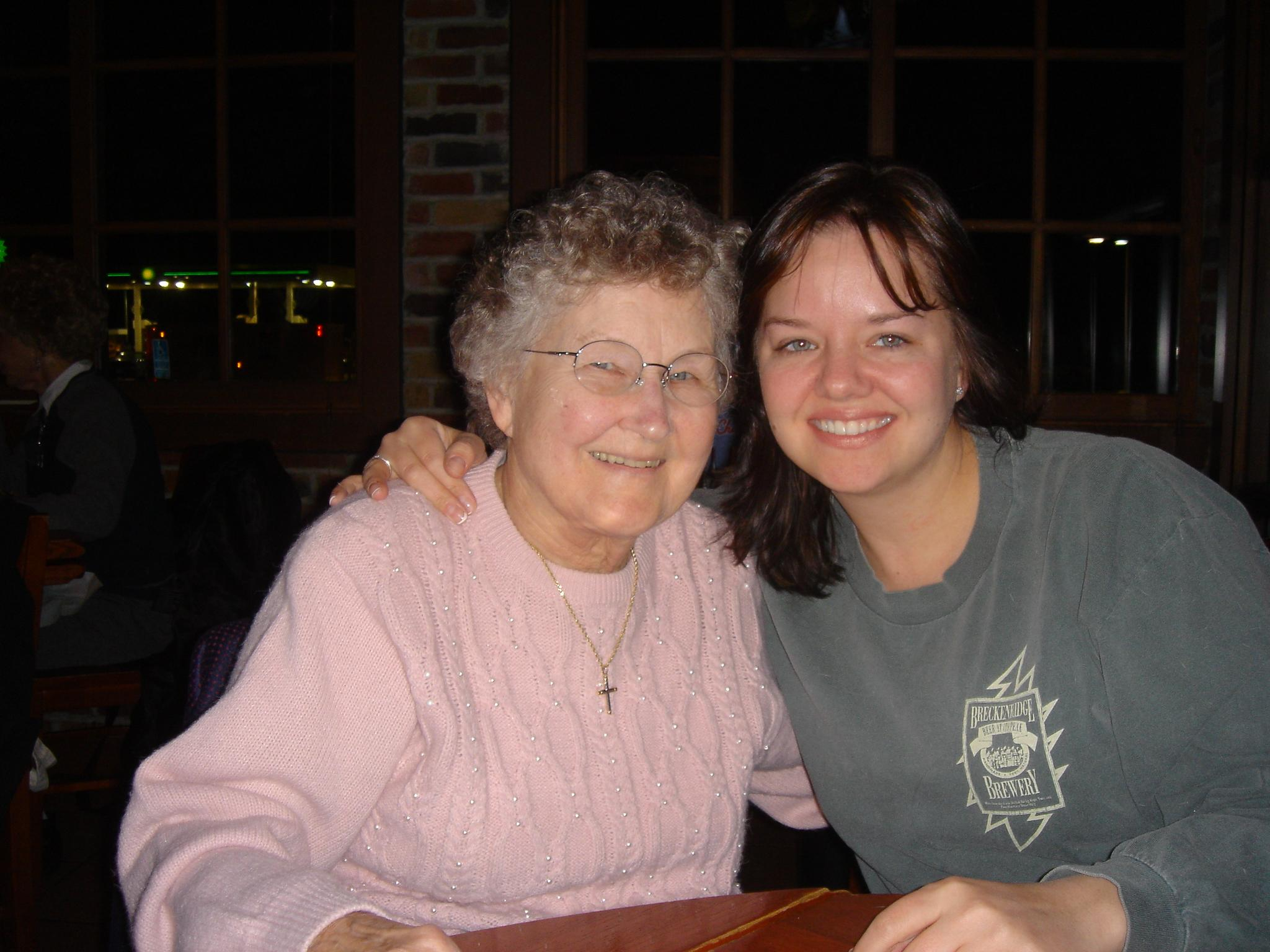 June Berg and Gretchen March 2005
