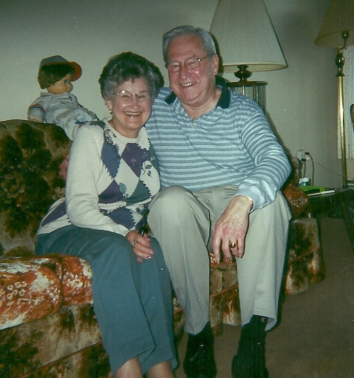 June and Stan Dec 2000