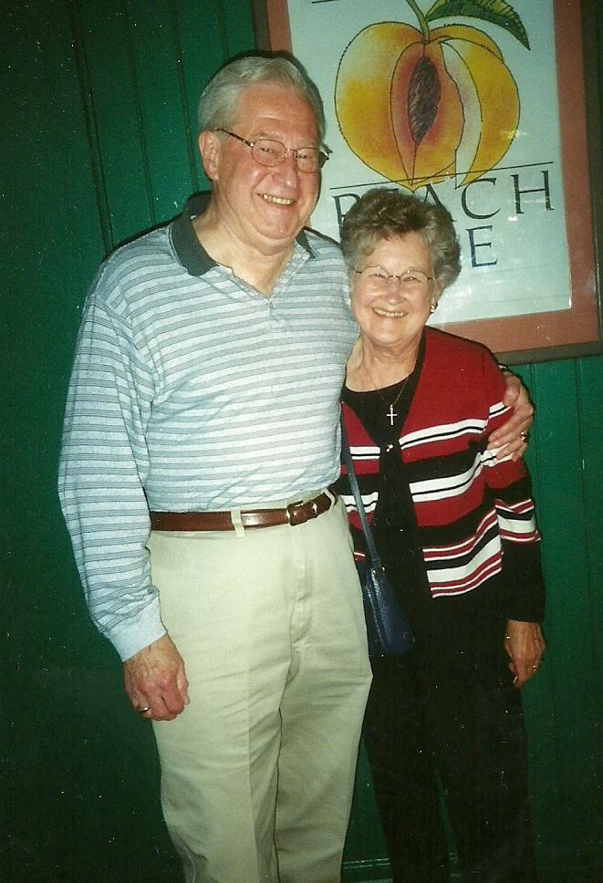 June and Stan October 2003