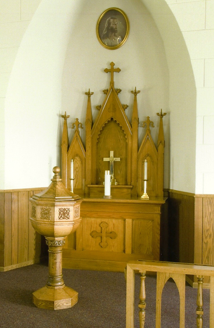 Old Chapel Alter area June 2011
