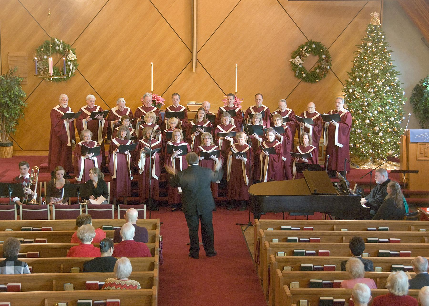 Redeemer Choir Dec 2011