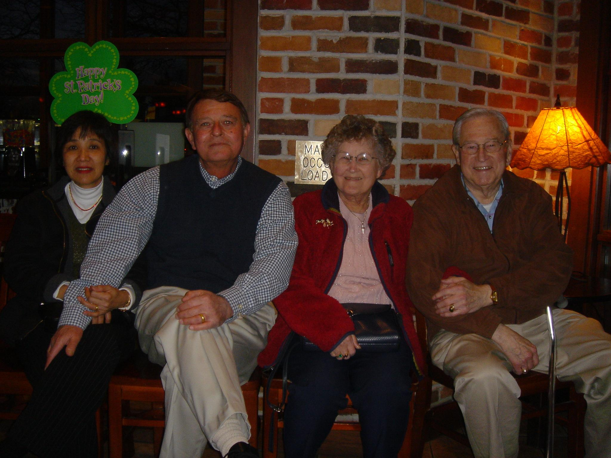 June and family 15 March 2005